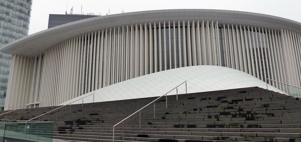 Futuristischer Bau: Die Philharmonie auf dem Kirchberg © - / D.Weirauch