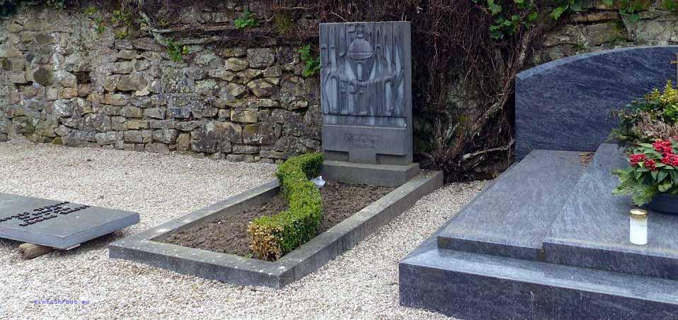 Grab des Hauptmanns von Köpenick, Foto: Dieter Weirauch