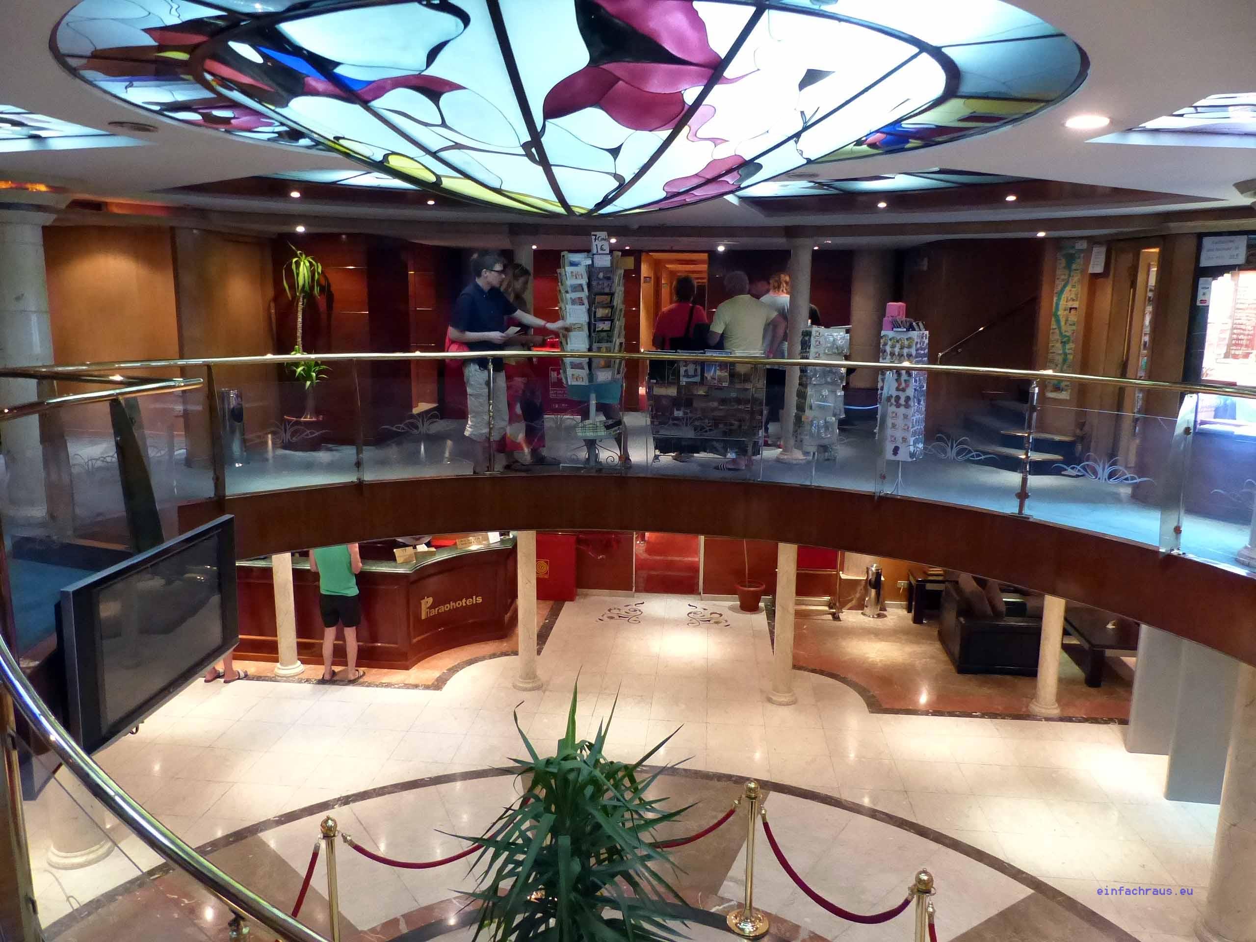 """Auf dem Nilkreuzfahrtschiff """"La terrasse"""", eines der Flaggschiffe von Sonnenklar.TV, Foto: Weirauch"""