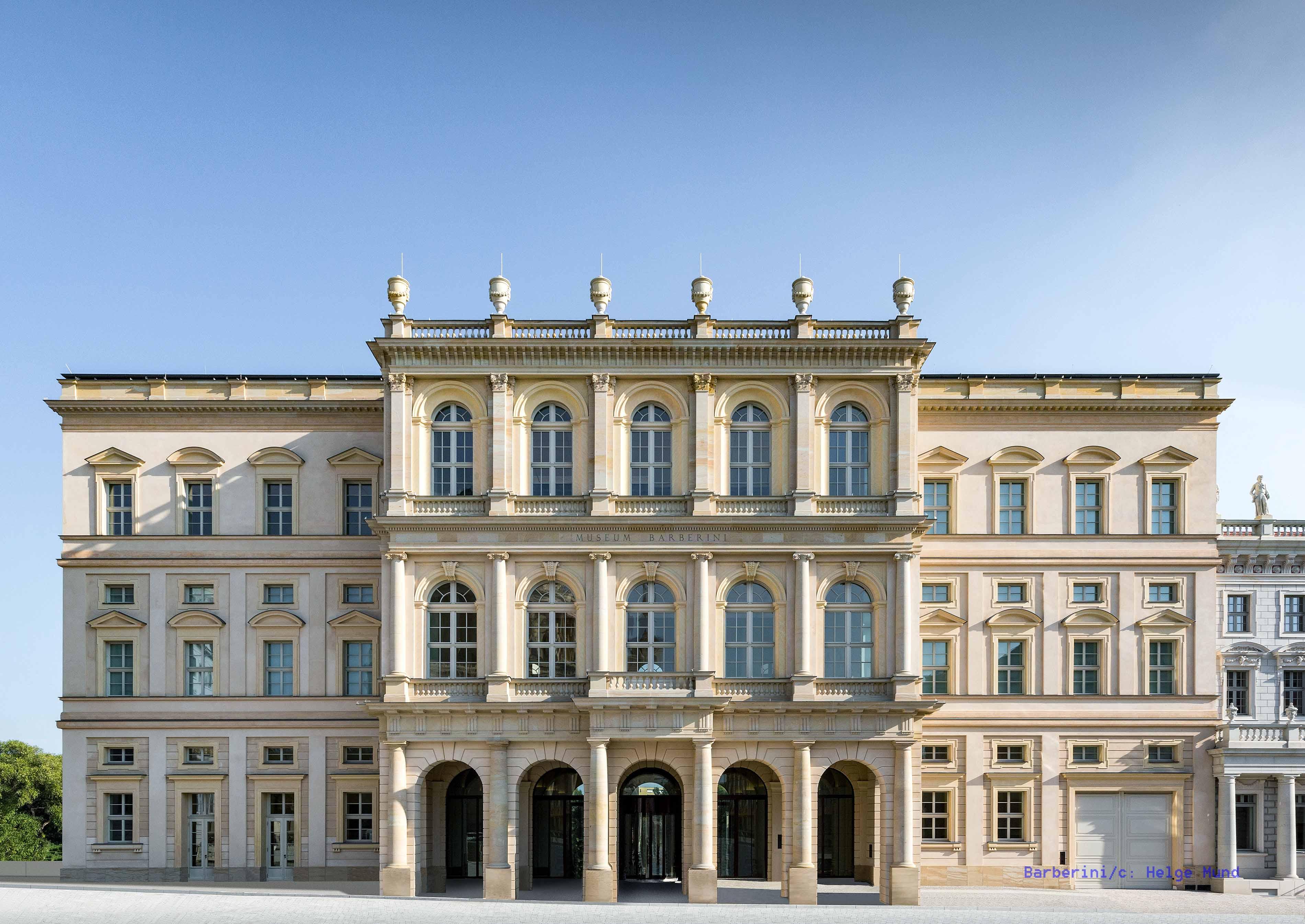 Museum Barberini Frontansicht vom Alten Markt, Photo: Helge Mundt