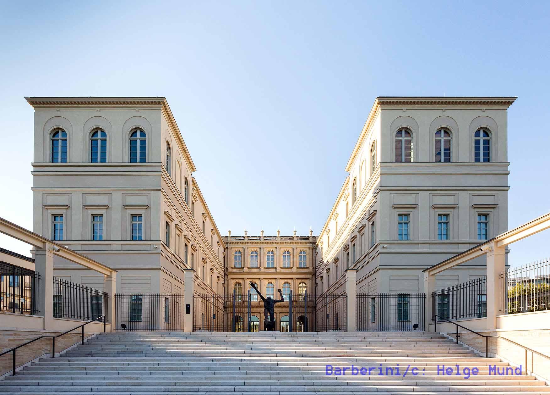 Museum Barberini, Rückansicht, Photo: Helge Mundt