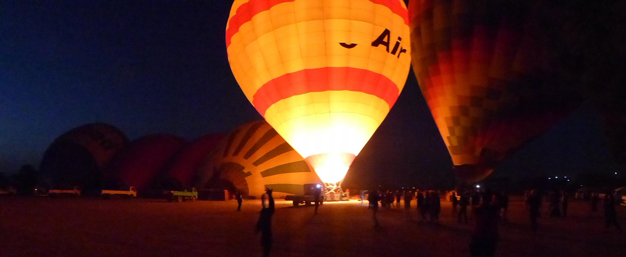 Mit dem Ballon über das Tal der Könige schweben, Foto: Weirauch