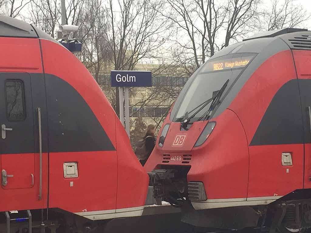 RB 21 Eisenbahn Zug