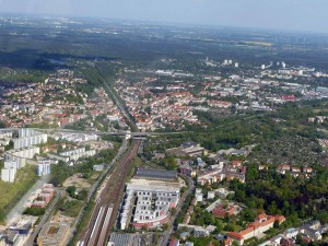 Potsdam Luftbild