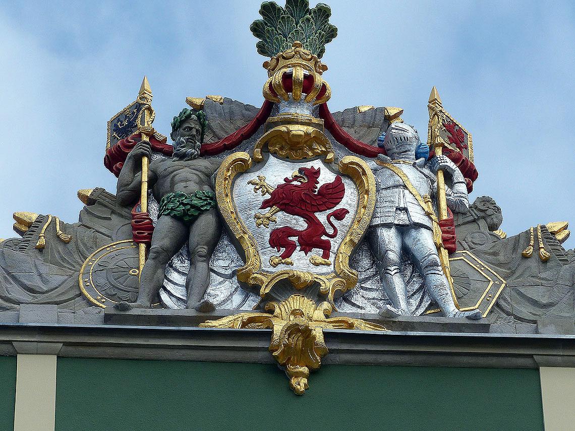 An die preussische Vergangenheit wird seit einigen Jahren wieder gern in Stettin erinnert. Foto: D.Weirauch
