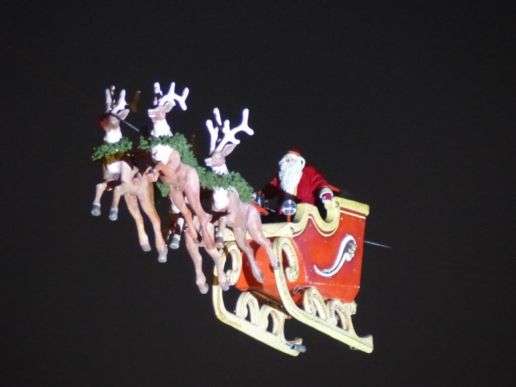 Weihnachtsmann in Karlsruhe