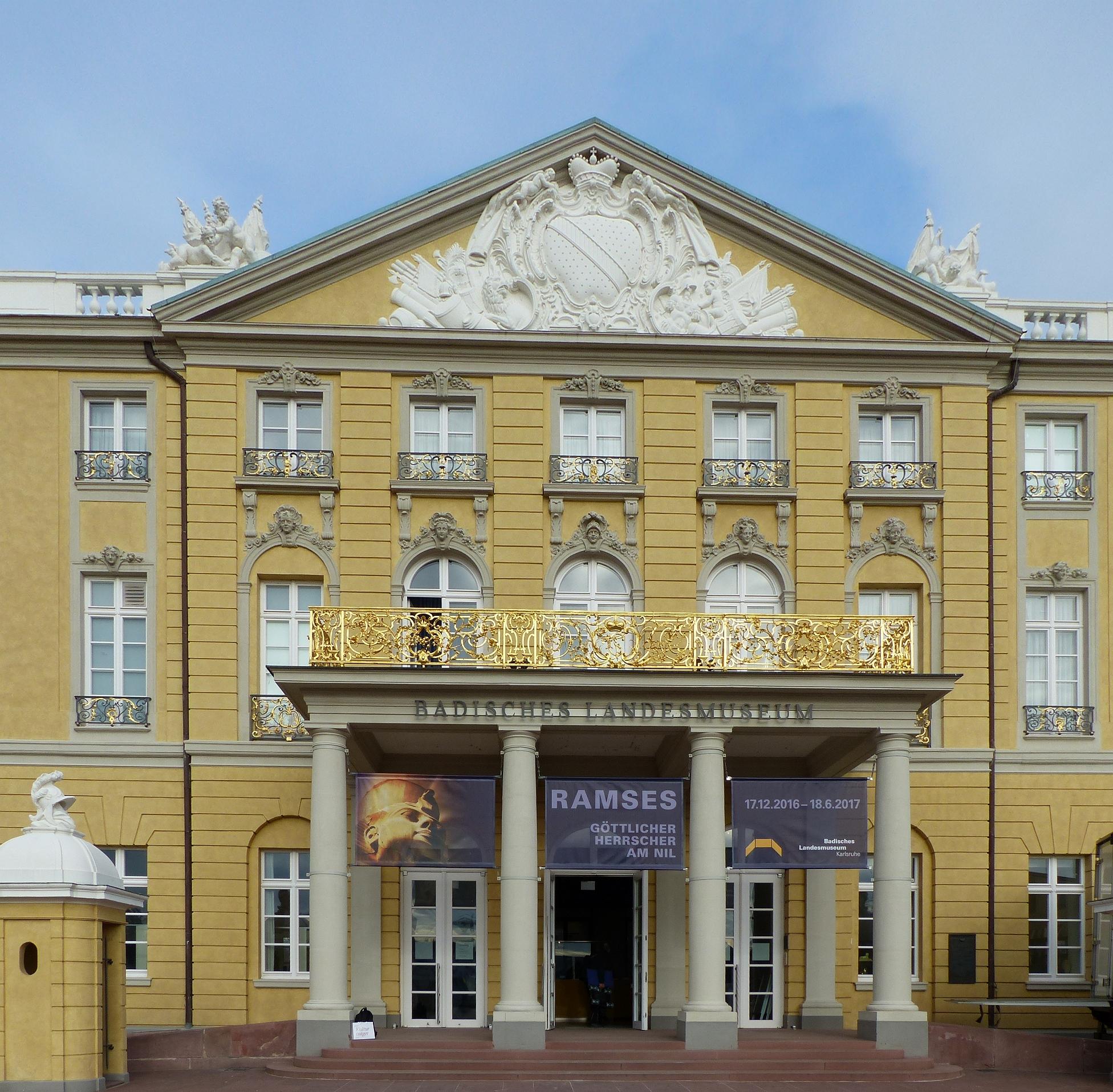 Das Badische Landesmuseum im Schloss Karlsruhe , Foto: D. Weirauch