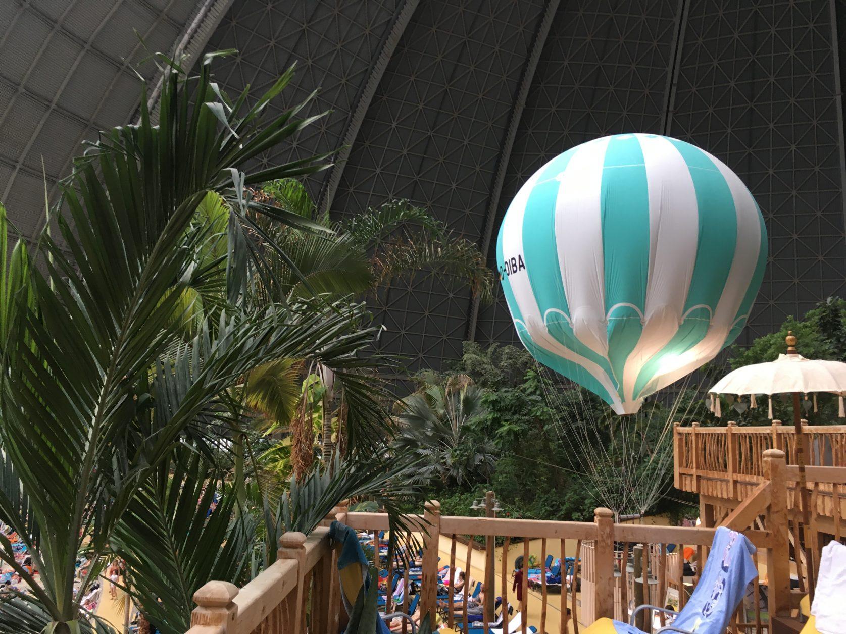 Ein Ballon ist immer unterwegs, Foto: D. Weirauch