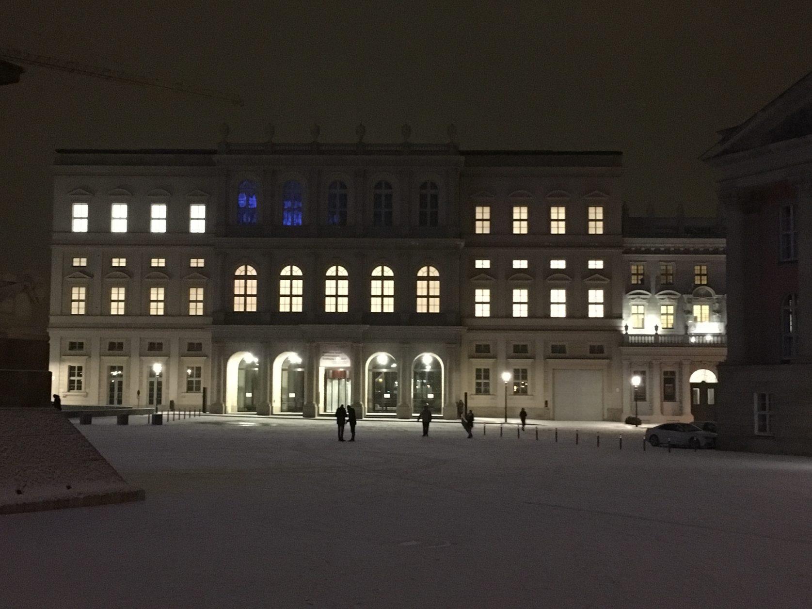 Palais Barberini im Abendlich, Foto: D.Weirauch