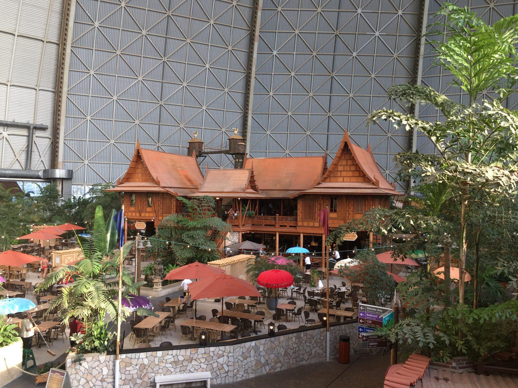 Am Montag sind die Restaurants recht leer, am Wochenende meist sehr voll, Foto: D.Weirauch