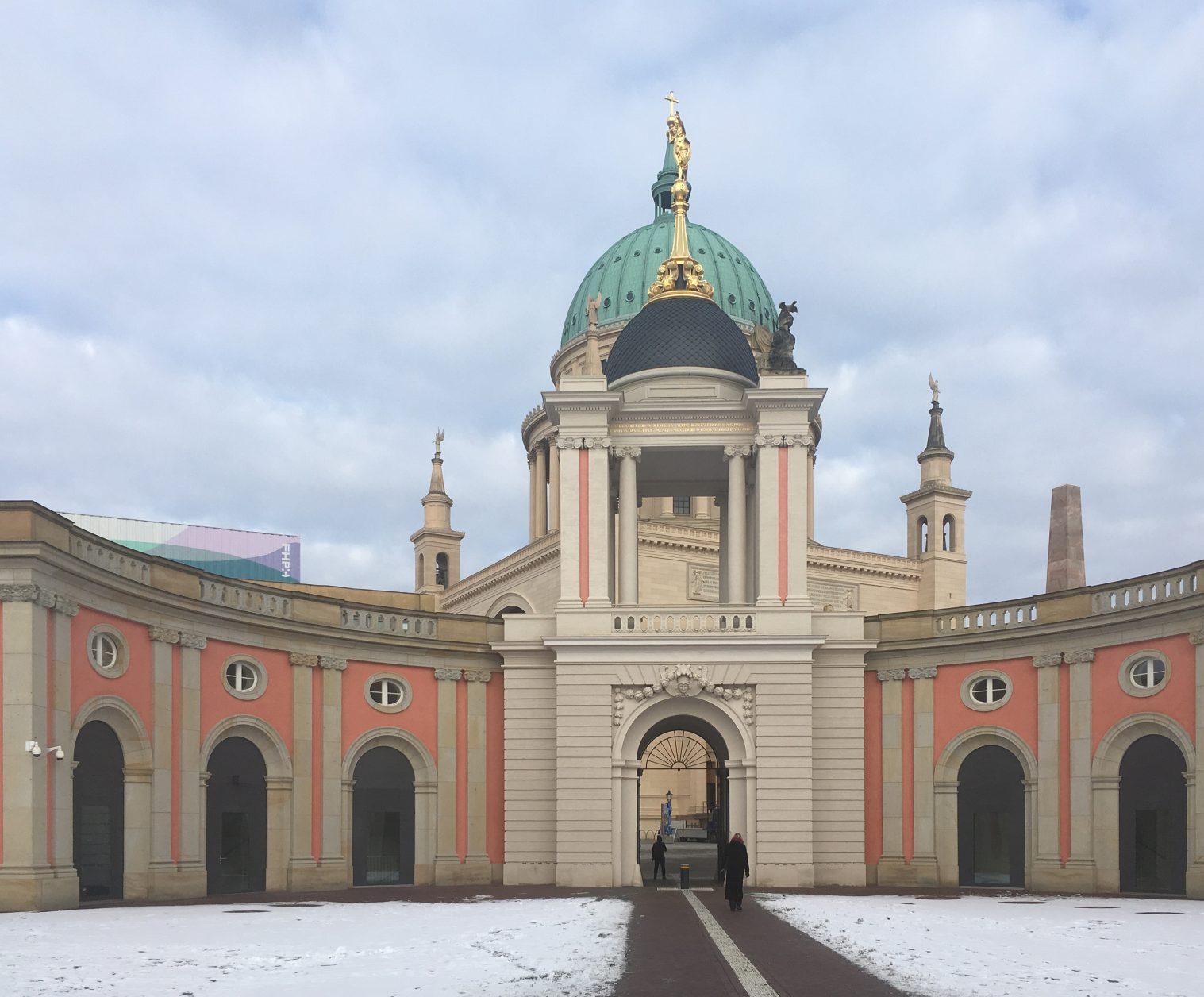Im Innenhof des Landtagsschlosses, Foto: Dieter Weirauch