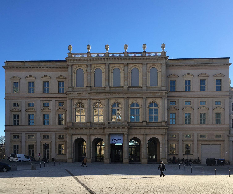 Das Museum Barberini in Potsdam, Foto: D.Weirauch