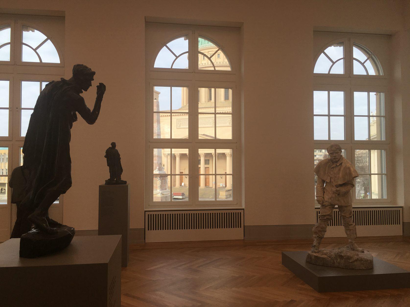 Plastiken von Rodin im Museum Barberini, Foto: D.Weirauch