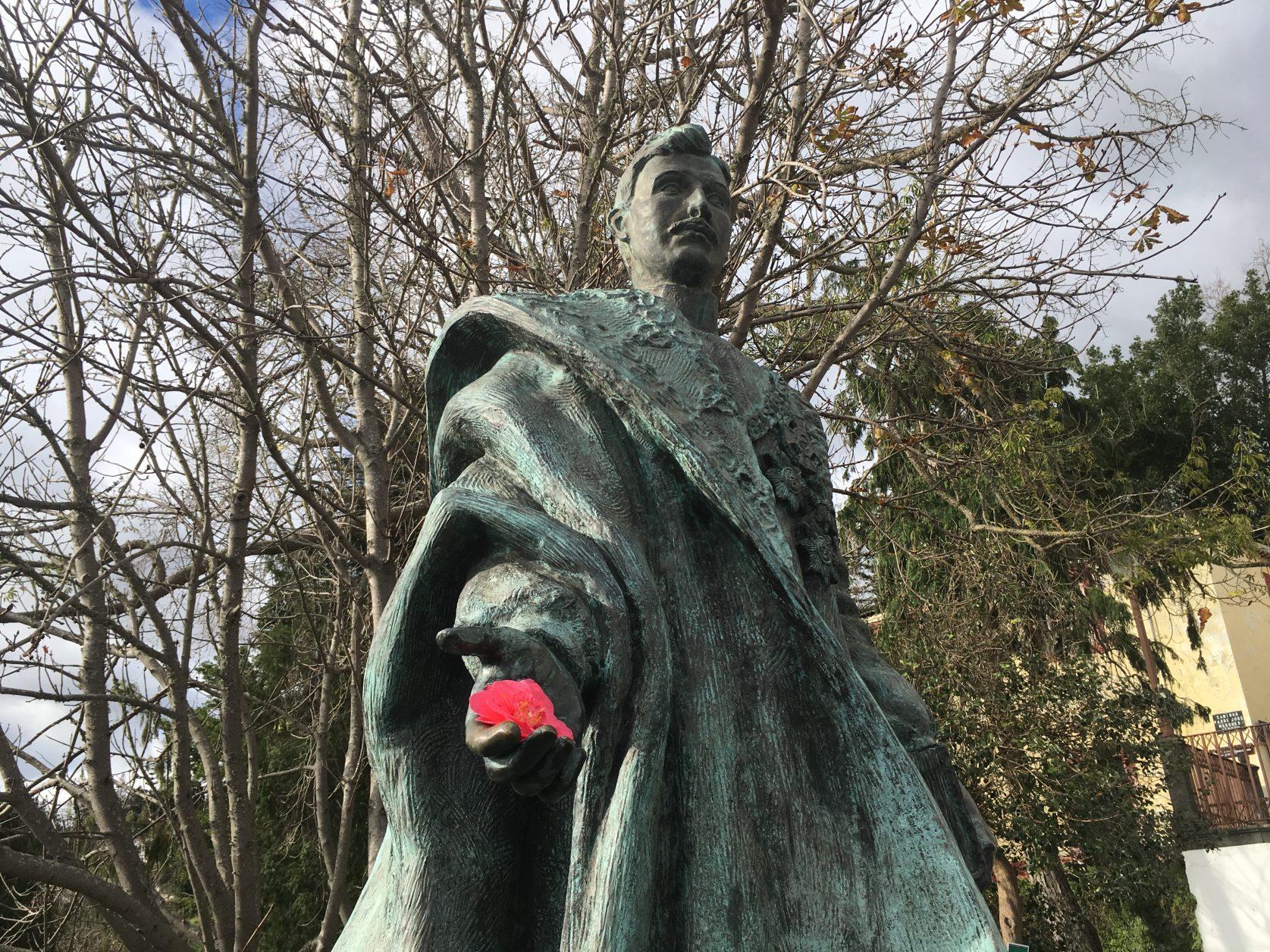 Denkmal des letzten österreichischen Kaisers Karl I., der 1922 auf Madeira verstarb. Foto: D. Weirauch