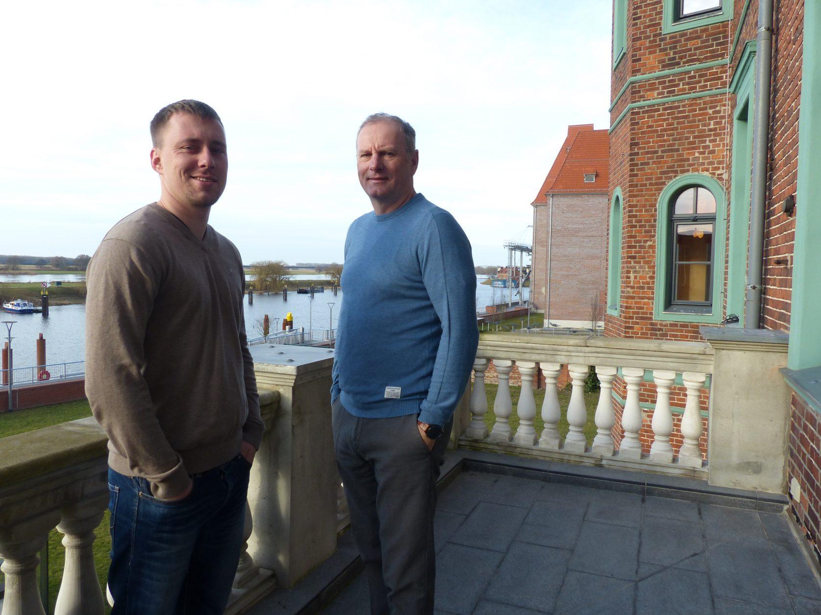 Jan und Lutz Lange entwickelten die Alte Ölmühle, Foto: D.Weirauch