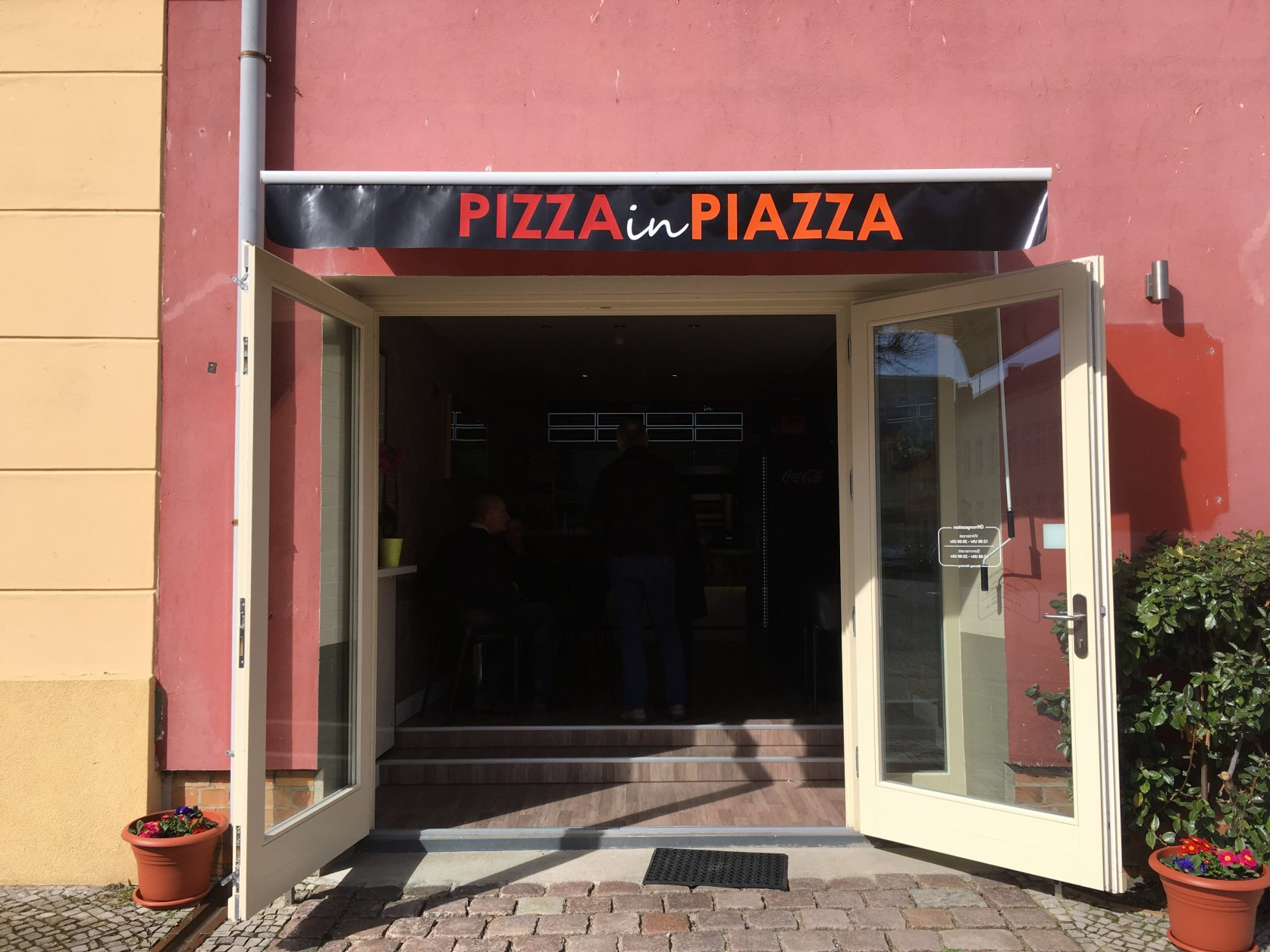 Pizza in Piazza Werder/Havel, Foto: D.Weirauch