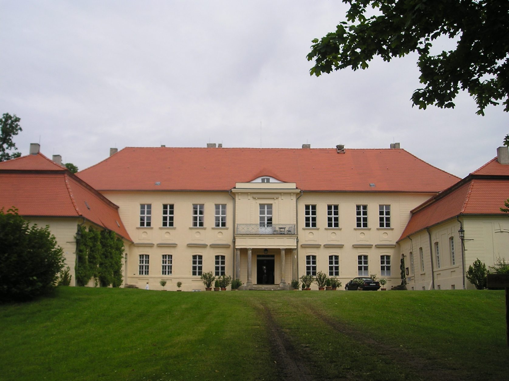 Schloss Hoppenrade, um 2010, Foto: D.Weirauch