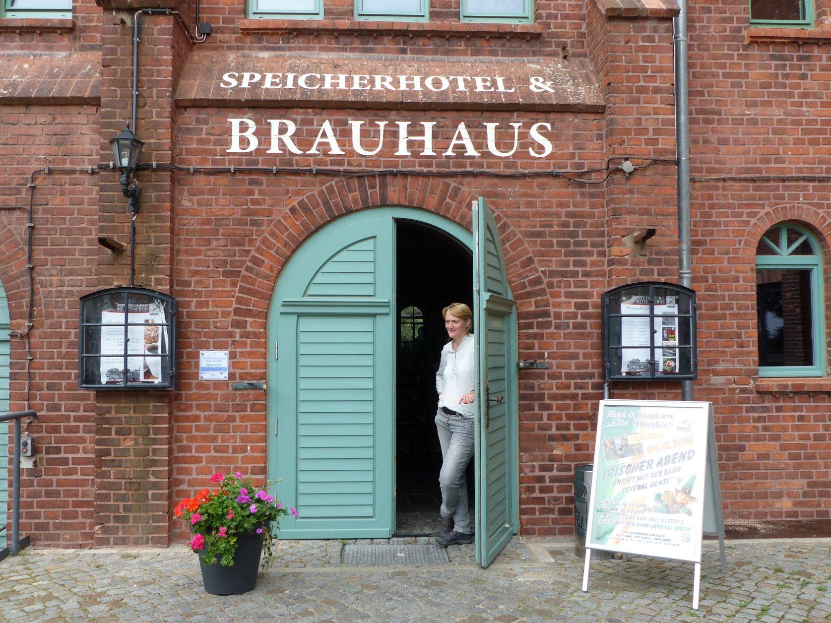 Gastfreundliches Brauhaus zur Alten Ölmühle in Wittenberge, Foto: D.Weirauch
