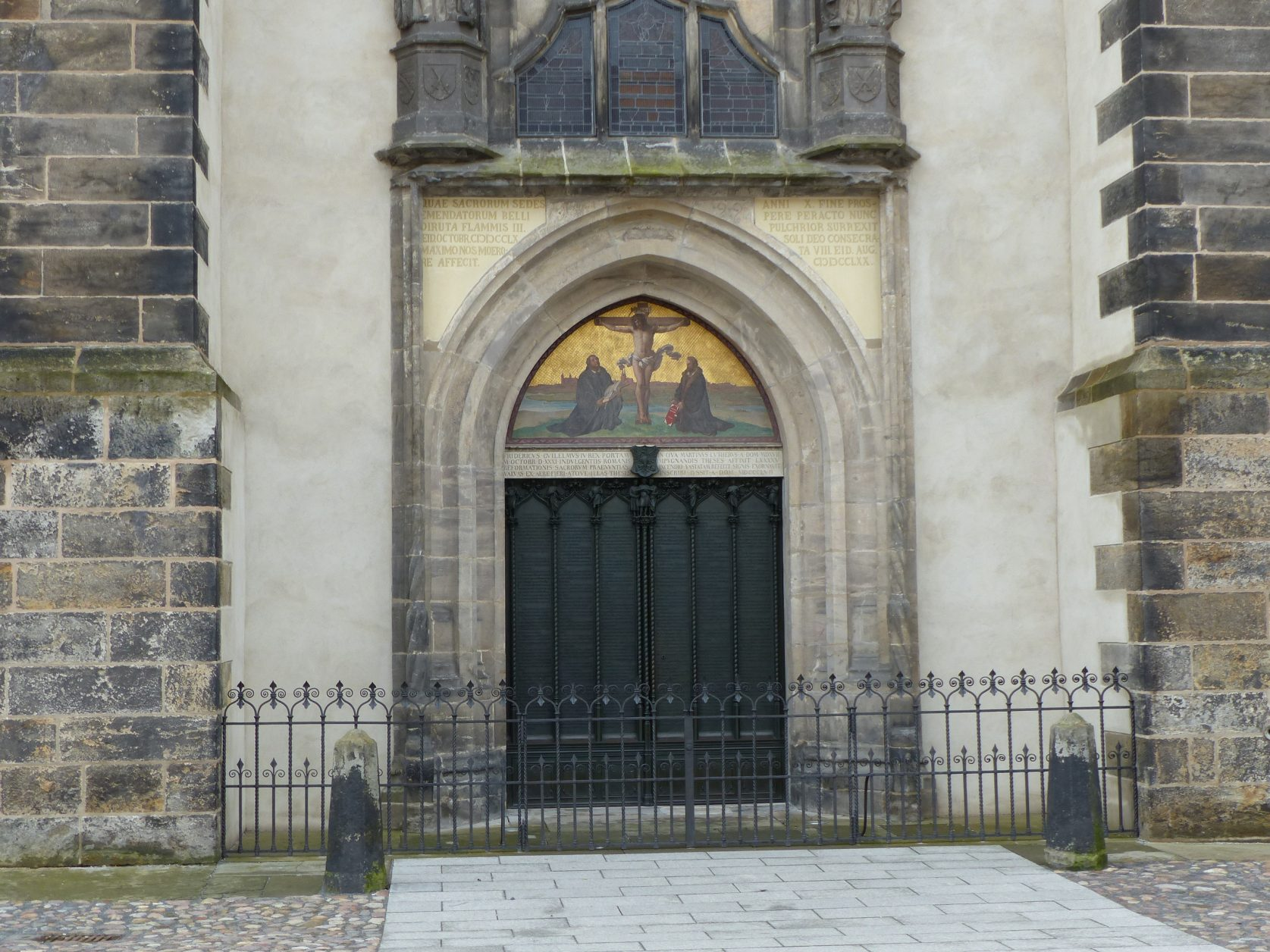 Schlosskirche in Lutherstadt Wittenberg, Foto: D.Weirauch