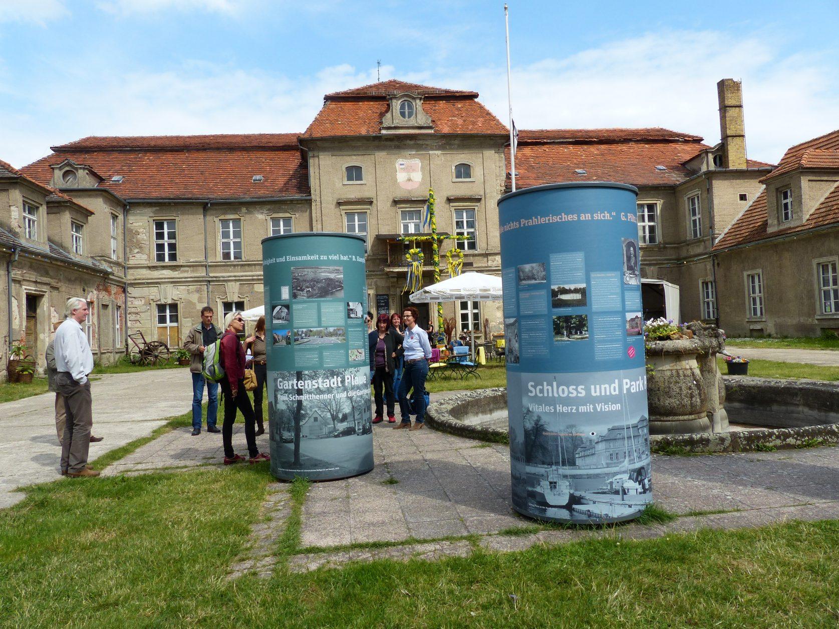 Besuch auf Schloss Plaue im Rahmen einer Kulturland - Exkursion, Foto: Weirauch