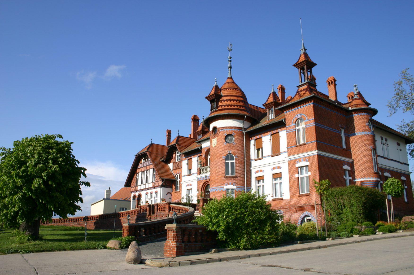 Gutshaus Mötzow bei Brandenburg/Havel, Foto: D.Weirauch