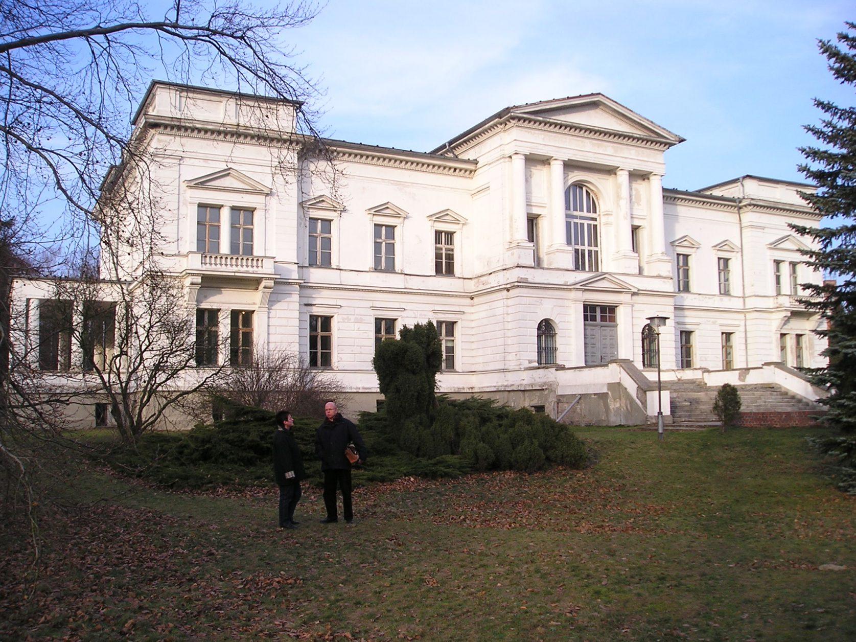 Schloss Sommerswalde, um 1998, Foto: D.Weirauch