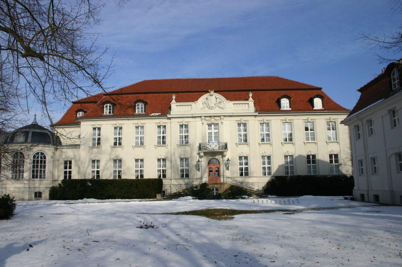 Schloss Wustrau im Winter, Foto: D. Weirauch