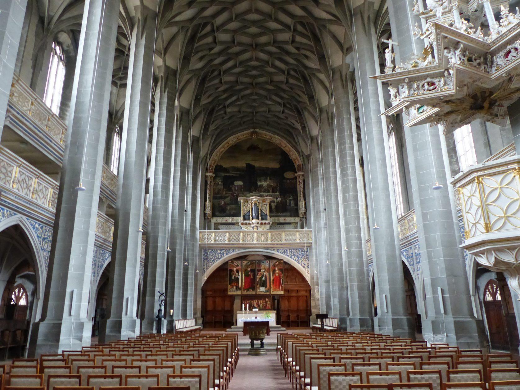 Die Marktkirche von Halle Foto: Weirauch