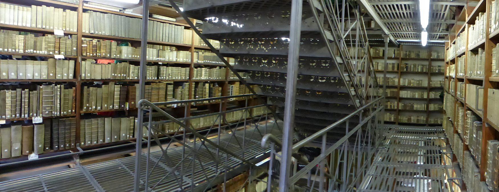 Blick in die Marienbibliothek zu Halle an der Saale, Foto: D.Weirauch