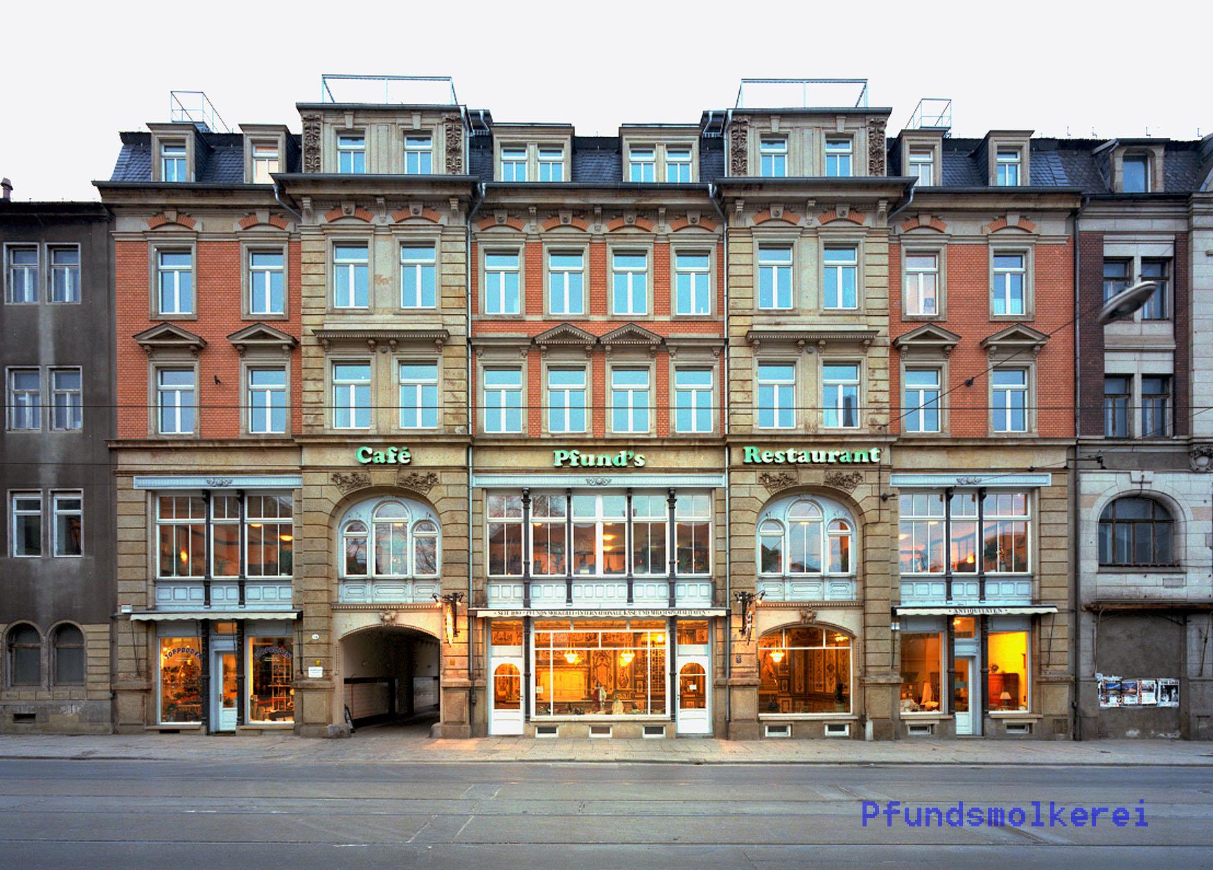 Pfunds Molkerei in Dresden, Foto: Pfunds Dresden