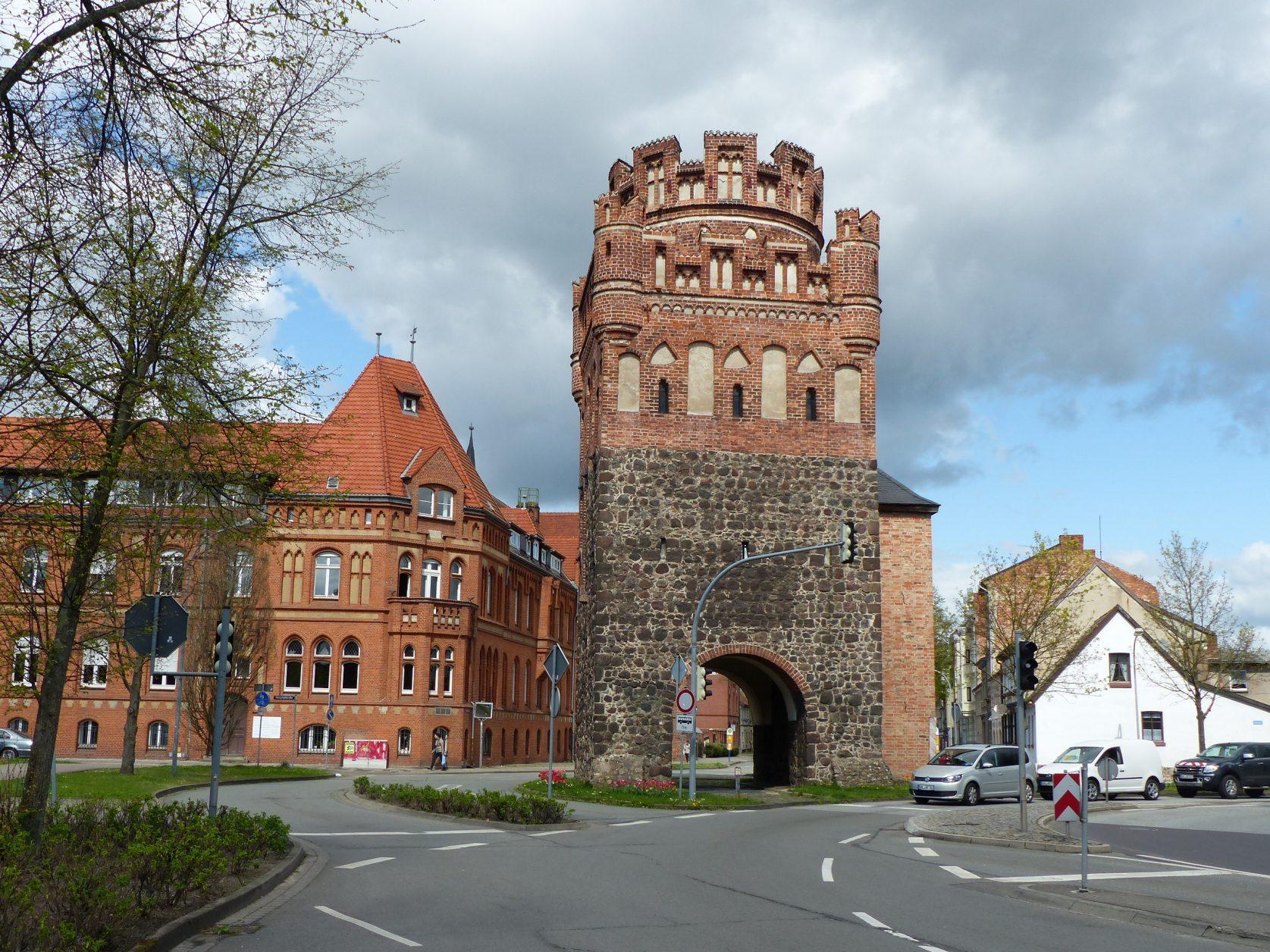 Das Tangermünder Tor in Stendal. Foto: D.Weirauch