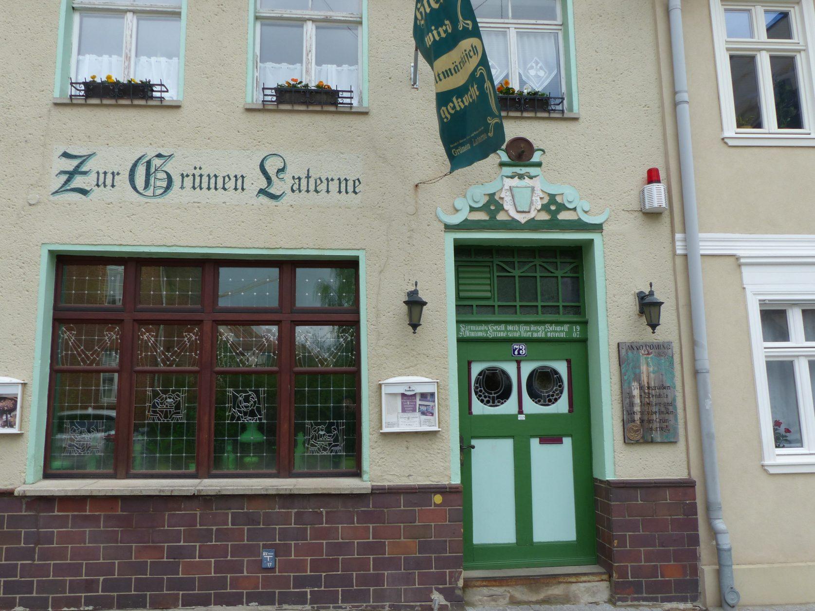 Zur grünen Laterne in Stendal, Foto: D.Weirauch