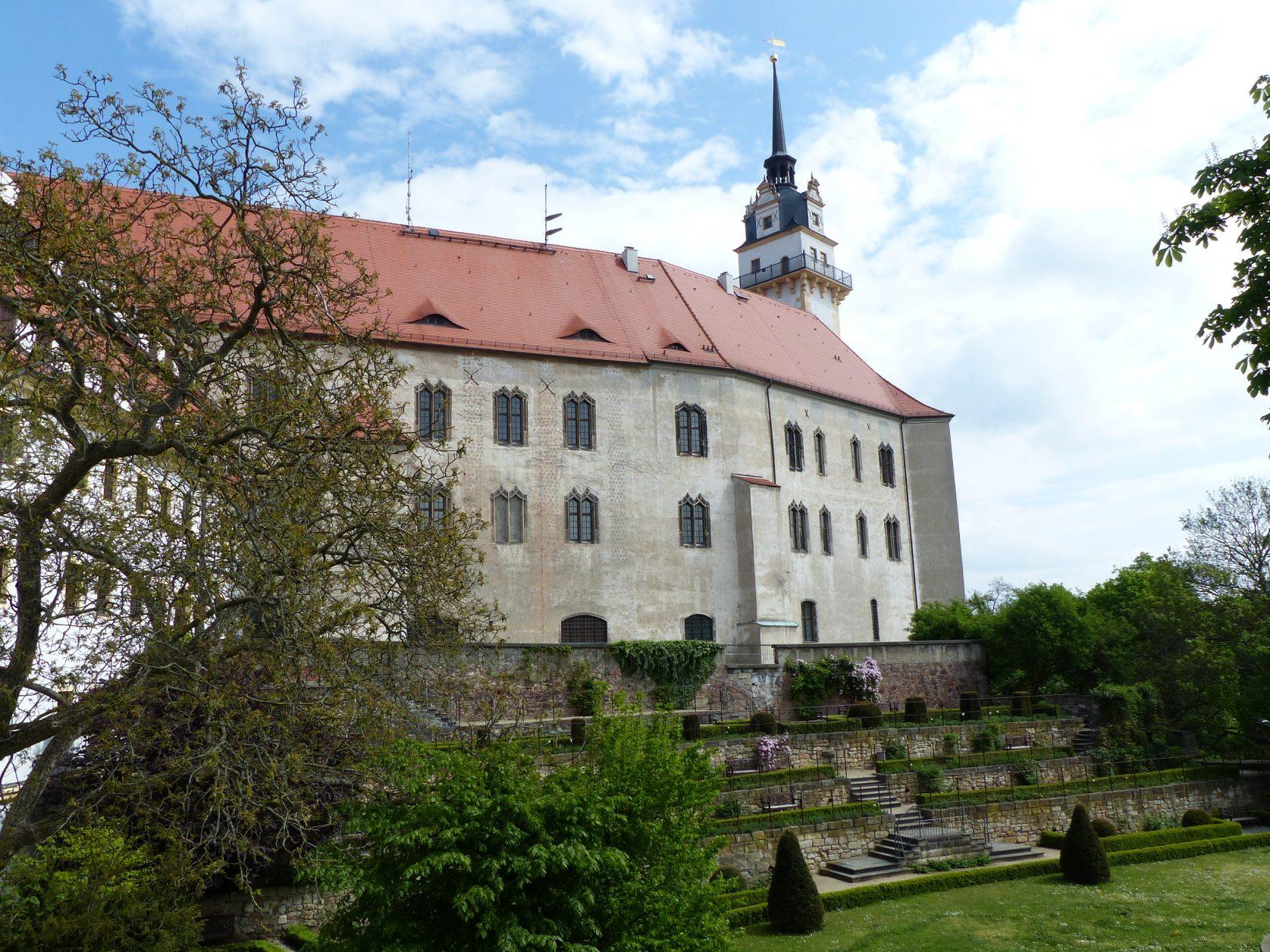 Schloss Hartenfels gilt als Deutschlands ältestes Renaissanceschloss
