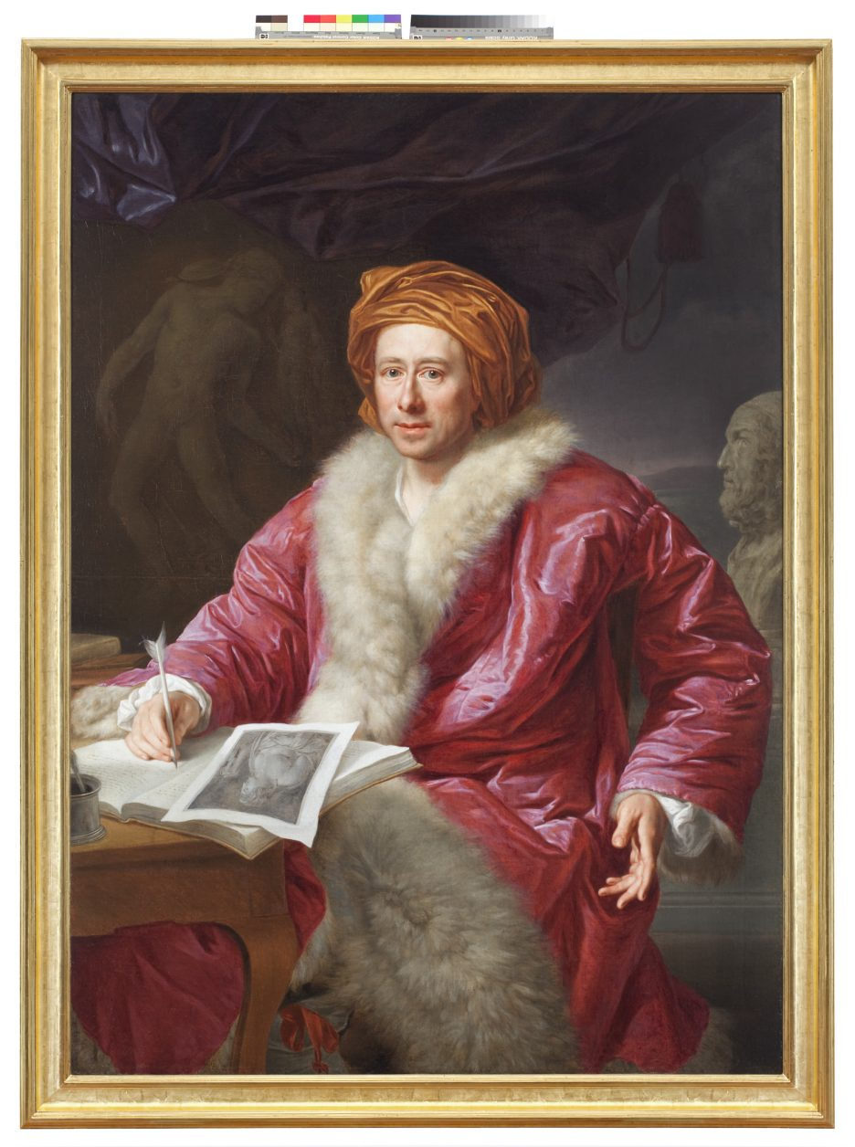 Anton v. Maron (1731-1808), Bildnis Johann Joachim Winckelmann. Öl auf Leinwand, 1768/69 (Kulturstiftung Dessau-Wörlitz, Inv. Nr. I-687).