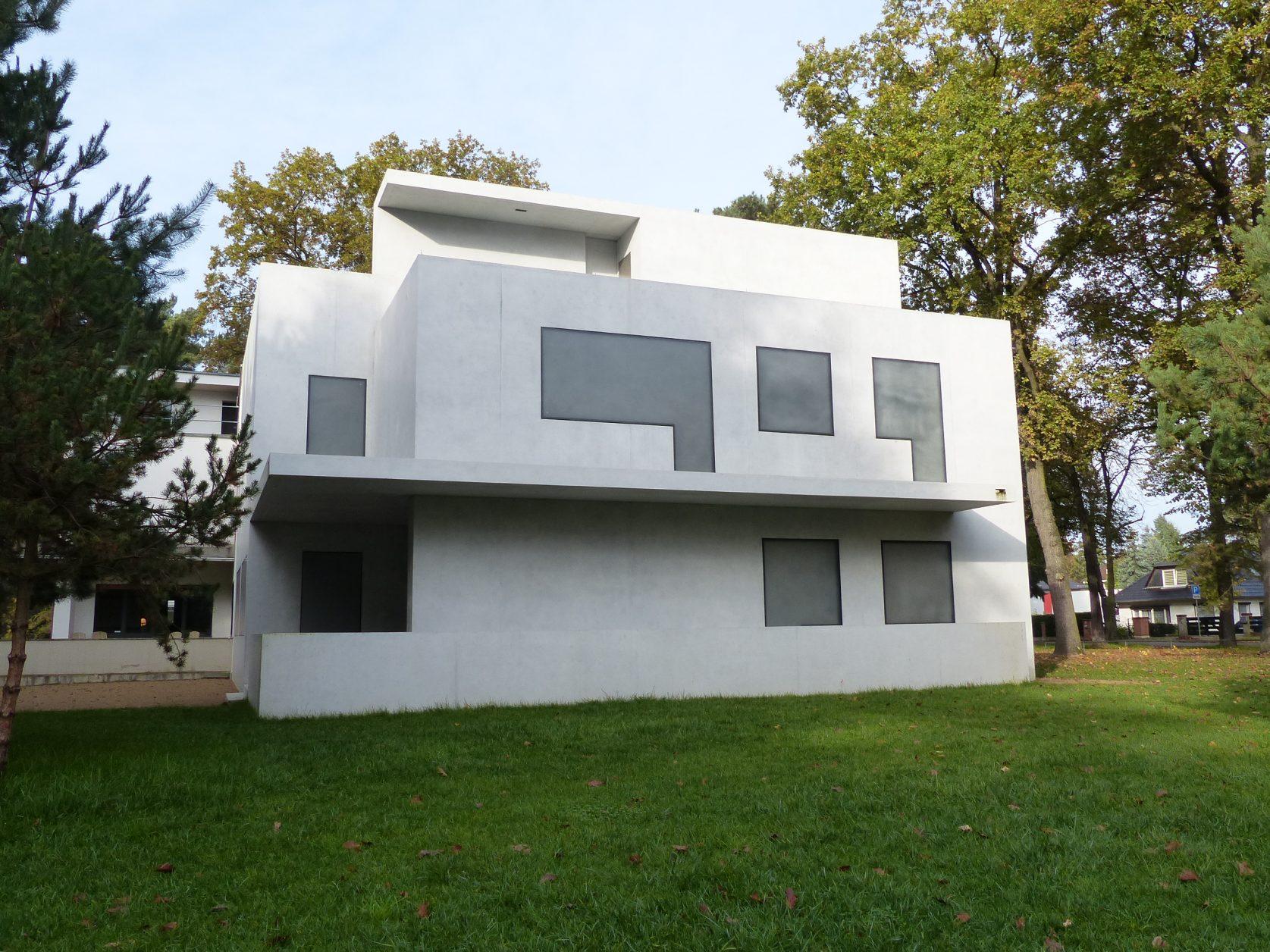Das wieder aufgebaute Direktorenhaus in Dessau, Foto: Weirauch