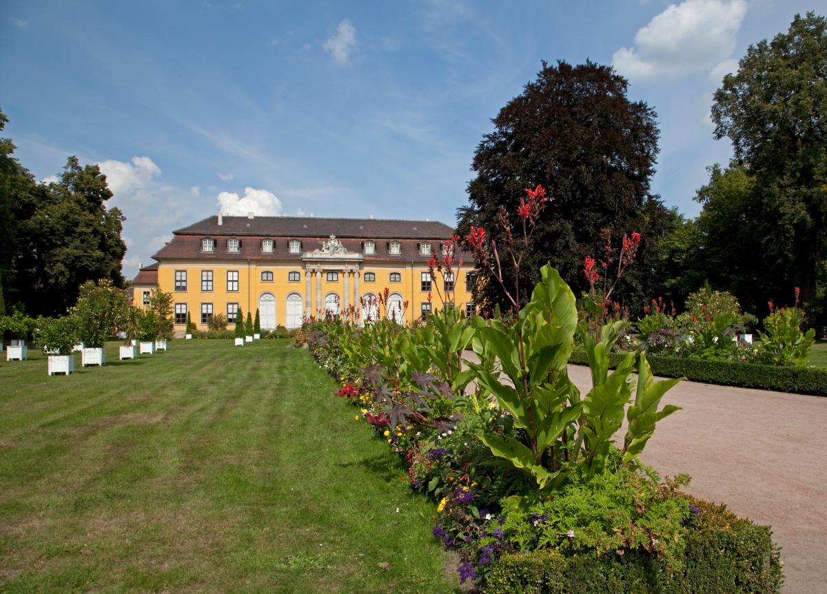 Schloss Mosigkau, Kulturstiftung DessauWörlitz, Foto: Heinz Fräßdorf