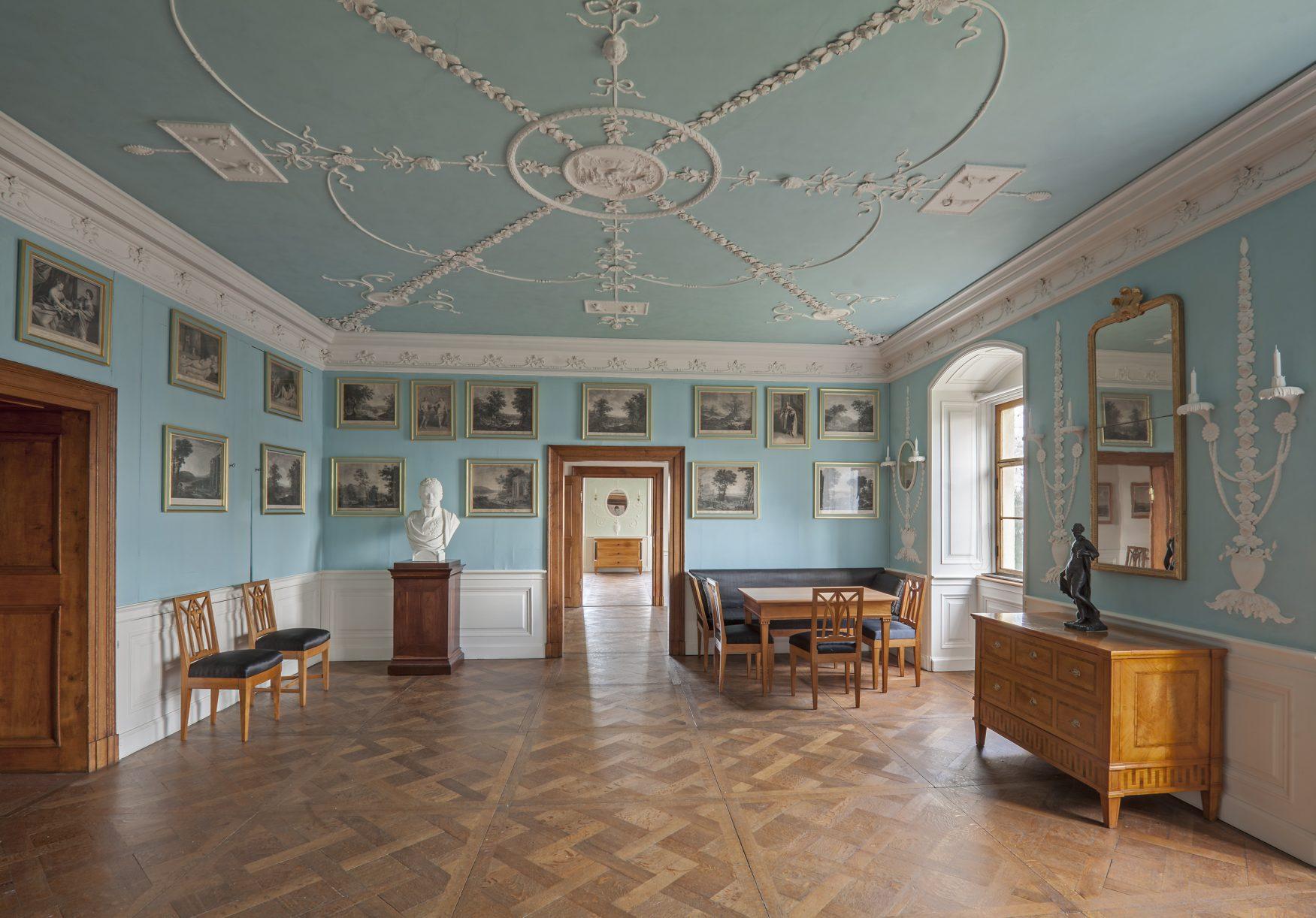Wörlitz Wohnzimmer Erbprinz Friedrich
