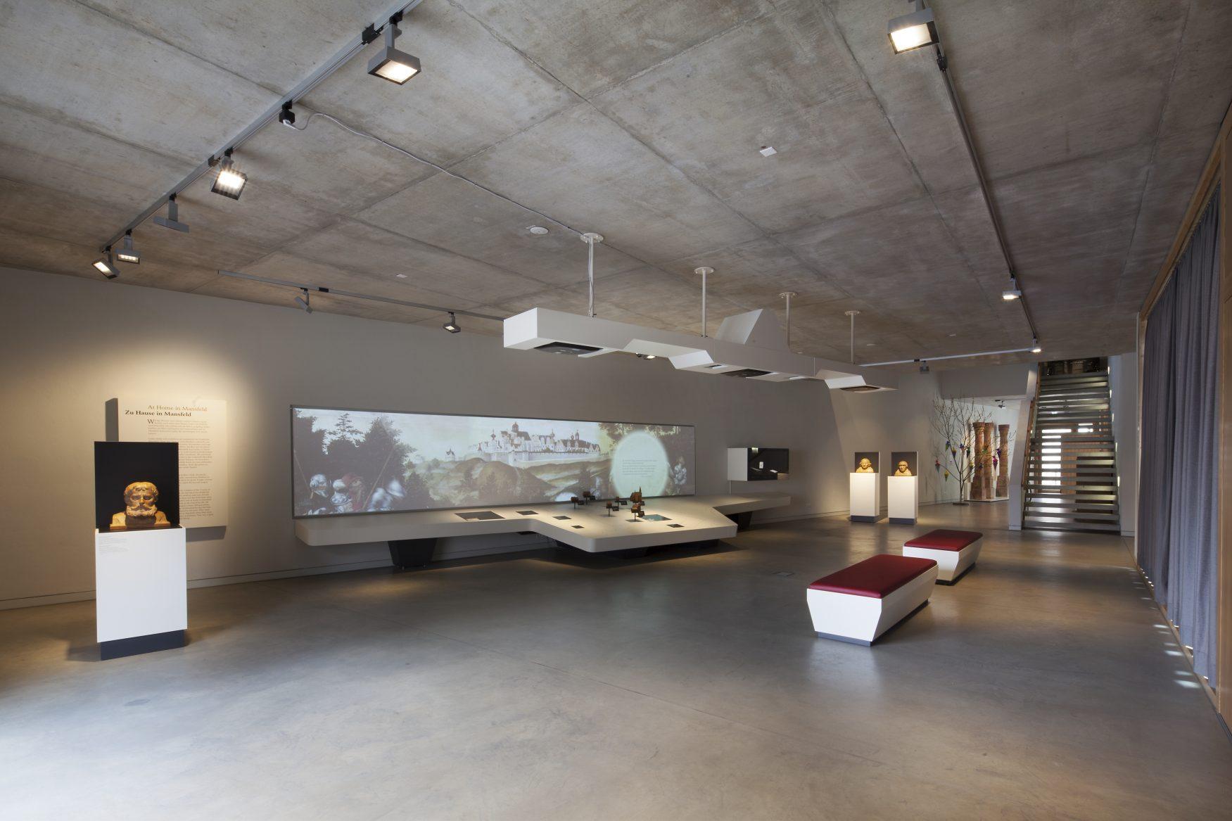 Blick in das Luthermuseum in Mansfeld, Foto: Stiftung Luthergedenkstätten in Sachsen-Anhalt,