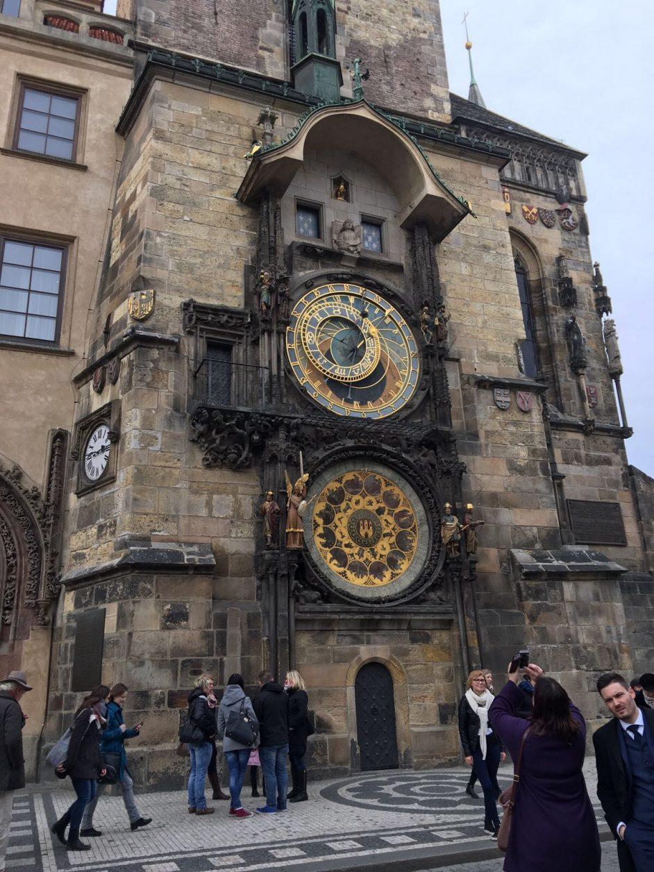 Astronomische Uhr in Prag, Foto: D.Weirauch