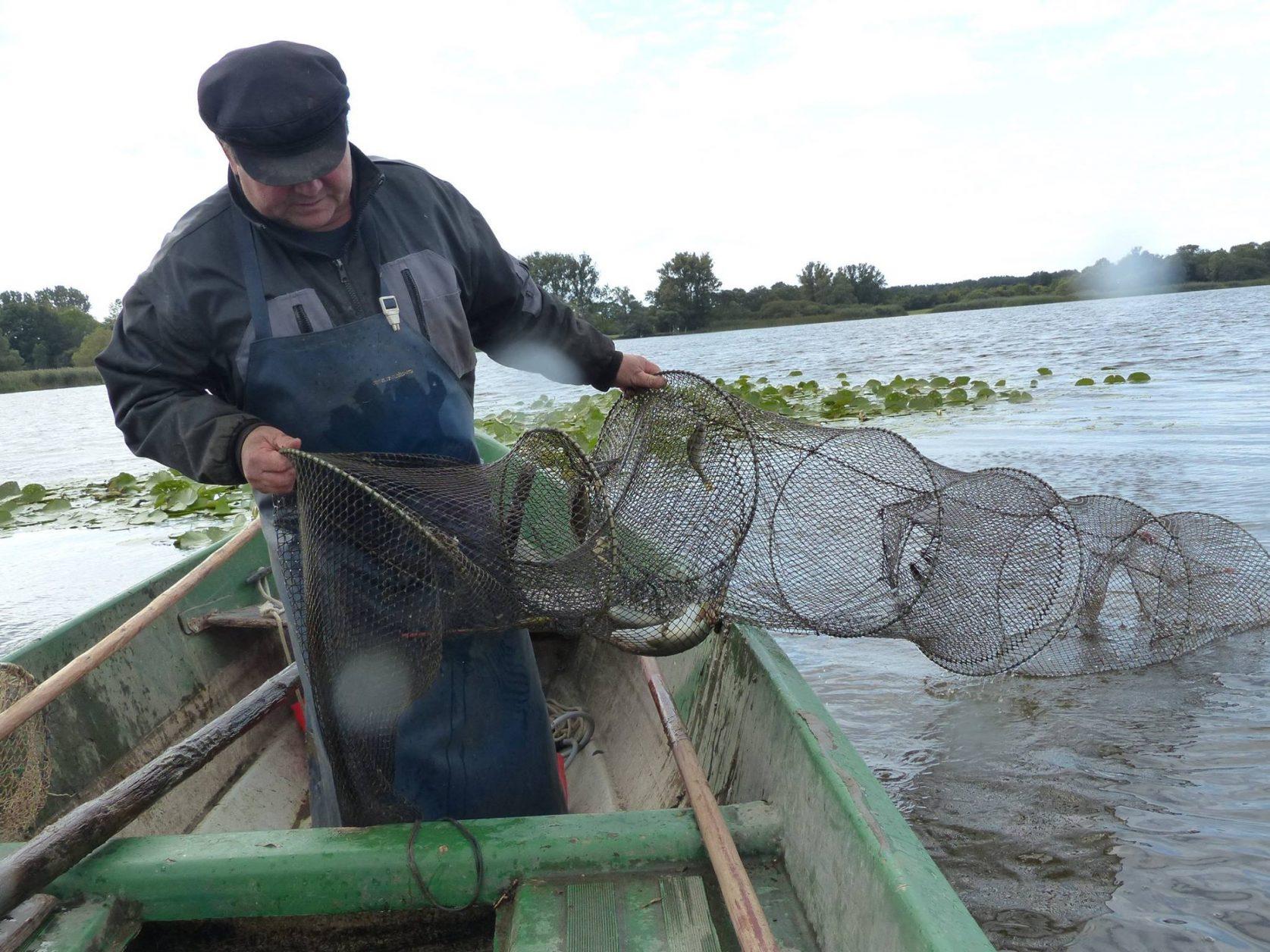 Fischer auf den Beetzsee, Foto: D.Weirauch