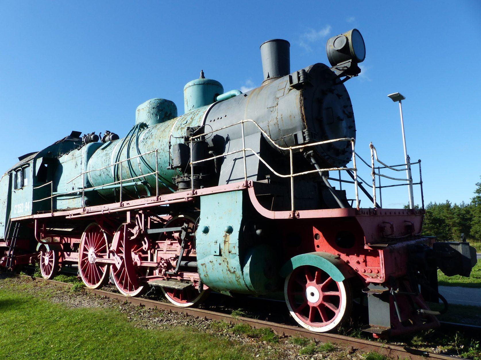Diese Lok aus russischer Produktion war bis 1988 im Einsatz, Foto: D.Weirauch