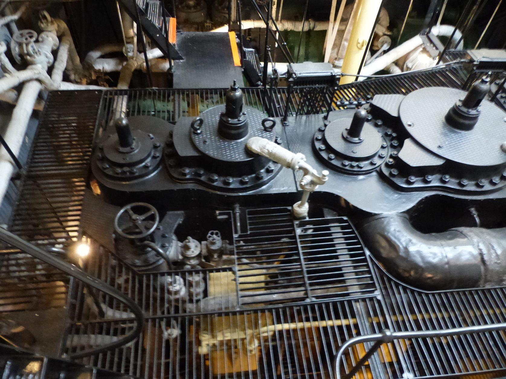 Estland Dampfmaschine Schiff