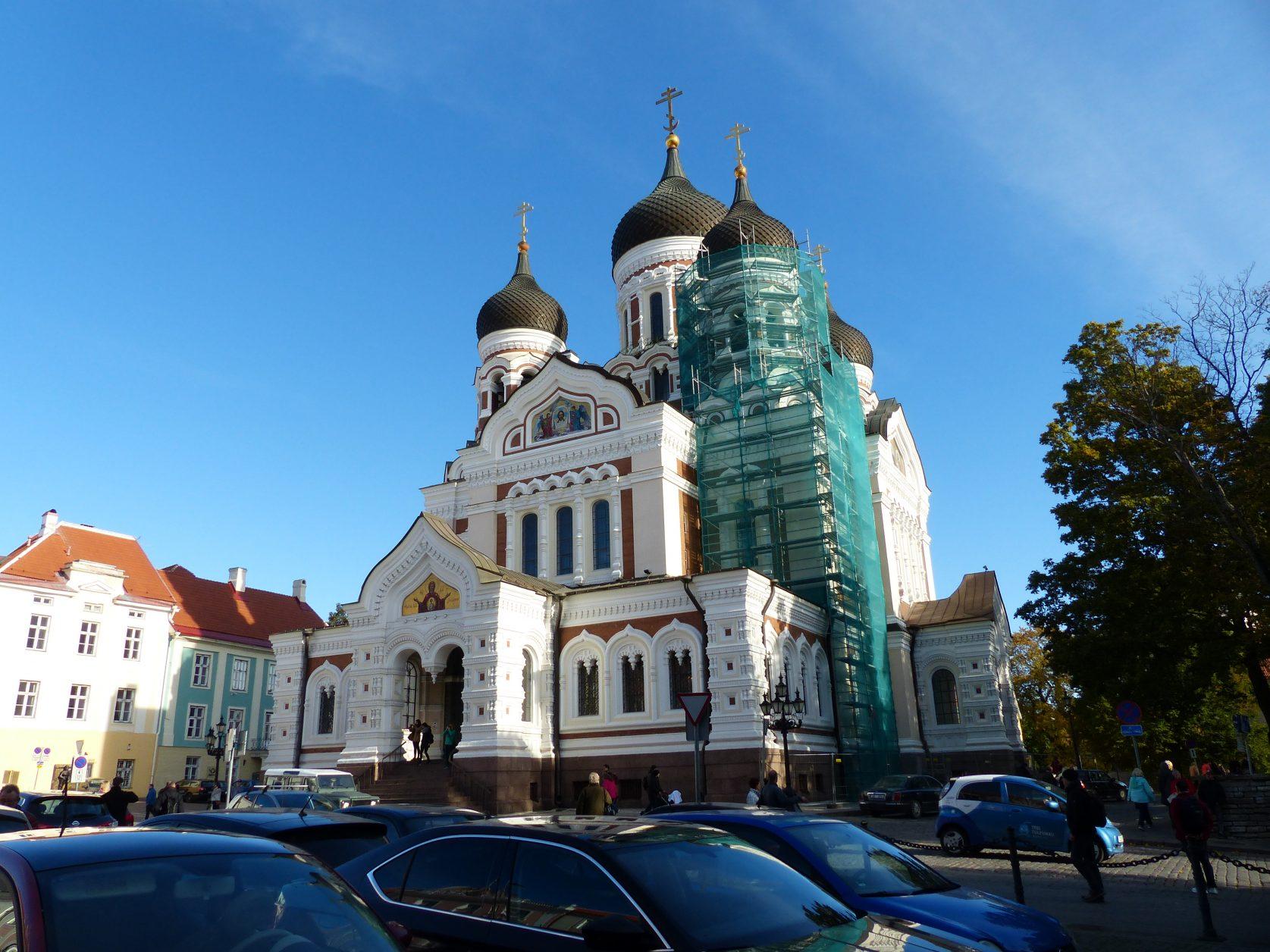 Die Alexander-Newski-Kathedrale befindet sich auf dem Burgberg in Tallin, Foto: D.Weirauch