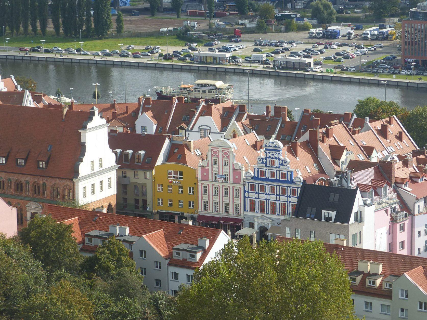 Blick auf die Altstadt von Stettin Foto: Weirauch