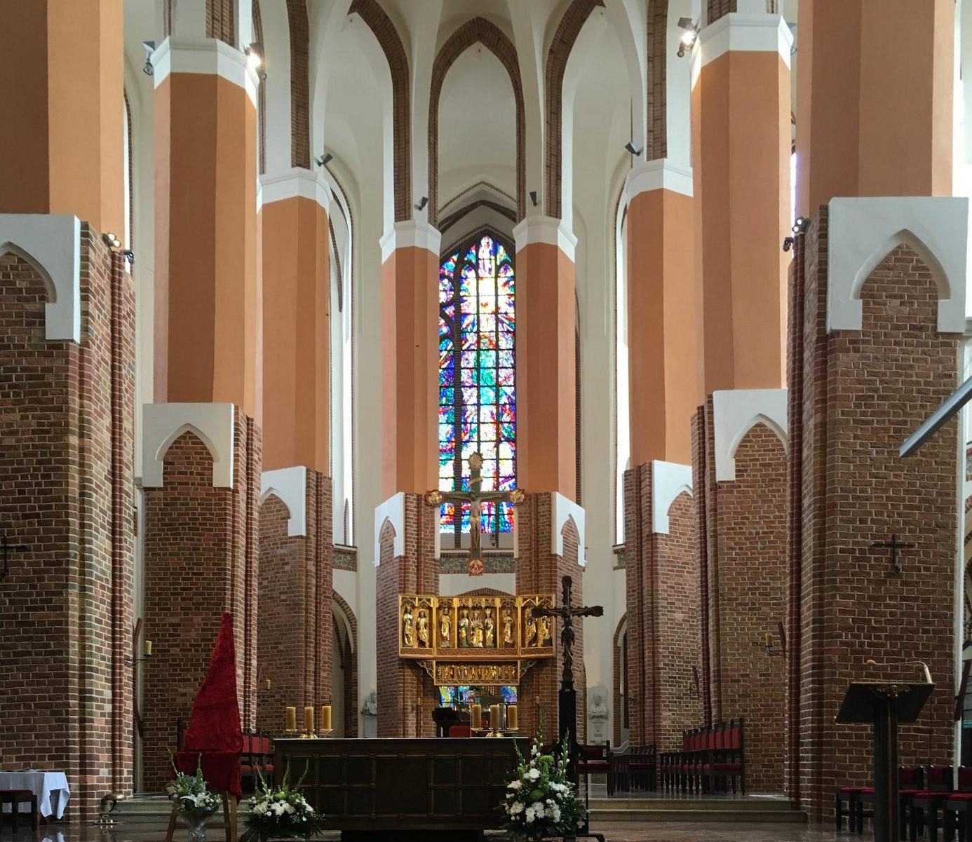 St. Jakobikirche in Stettin