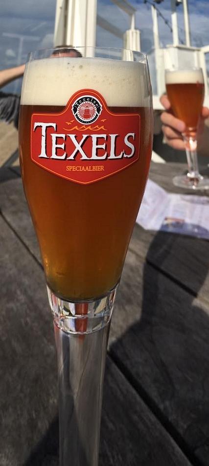 "Das Bier auf der Insel Texel, das ""Texels"""