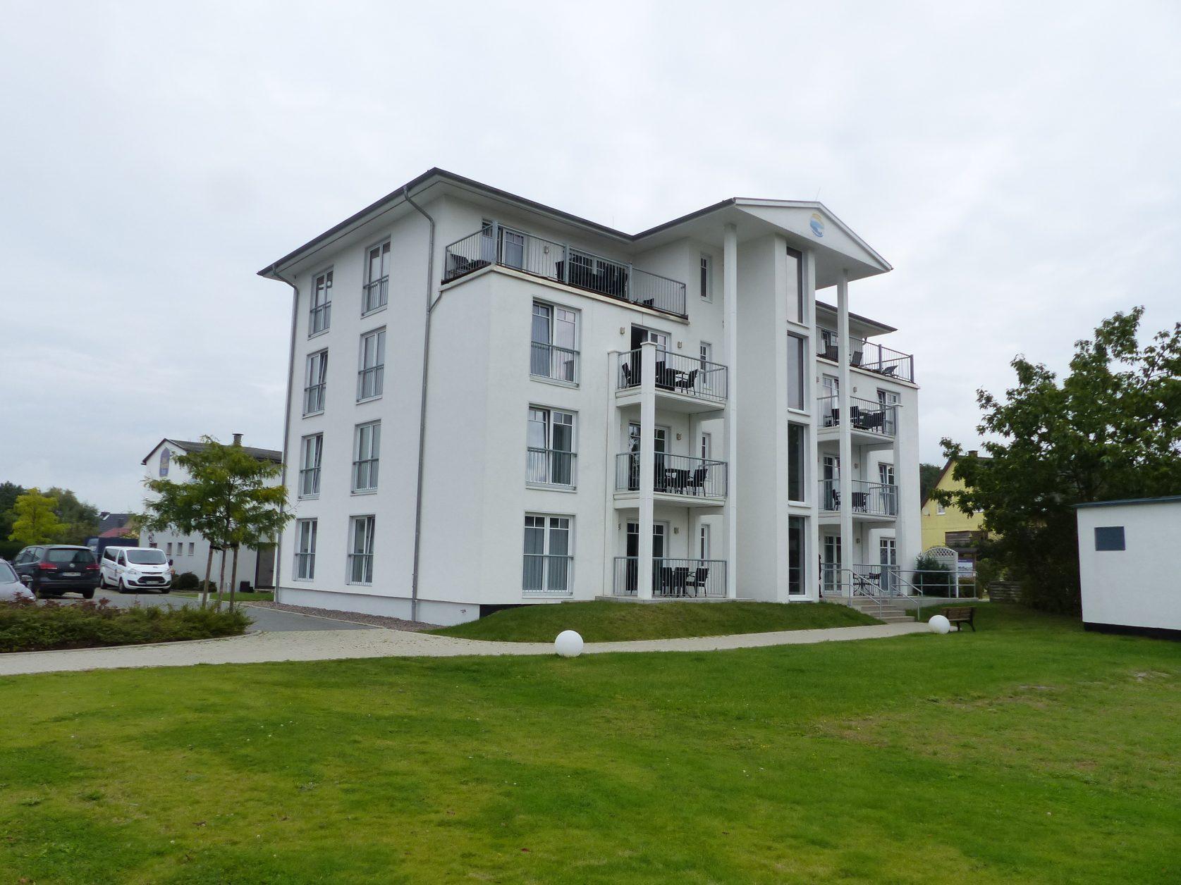Das Apartementhaus des Hotels, Foto: Weirauch