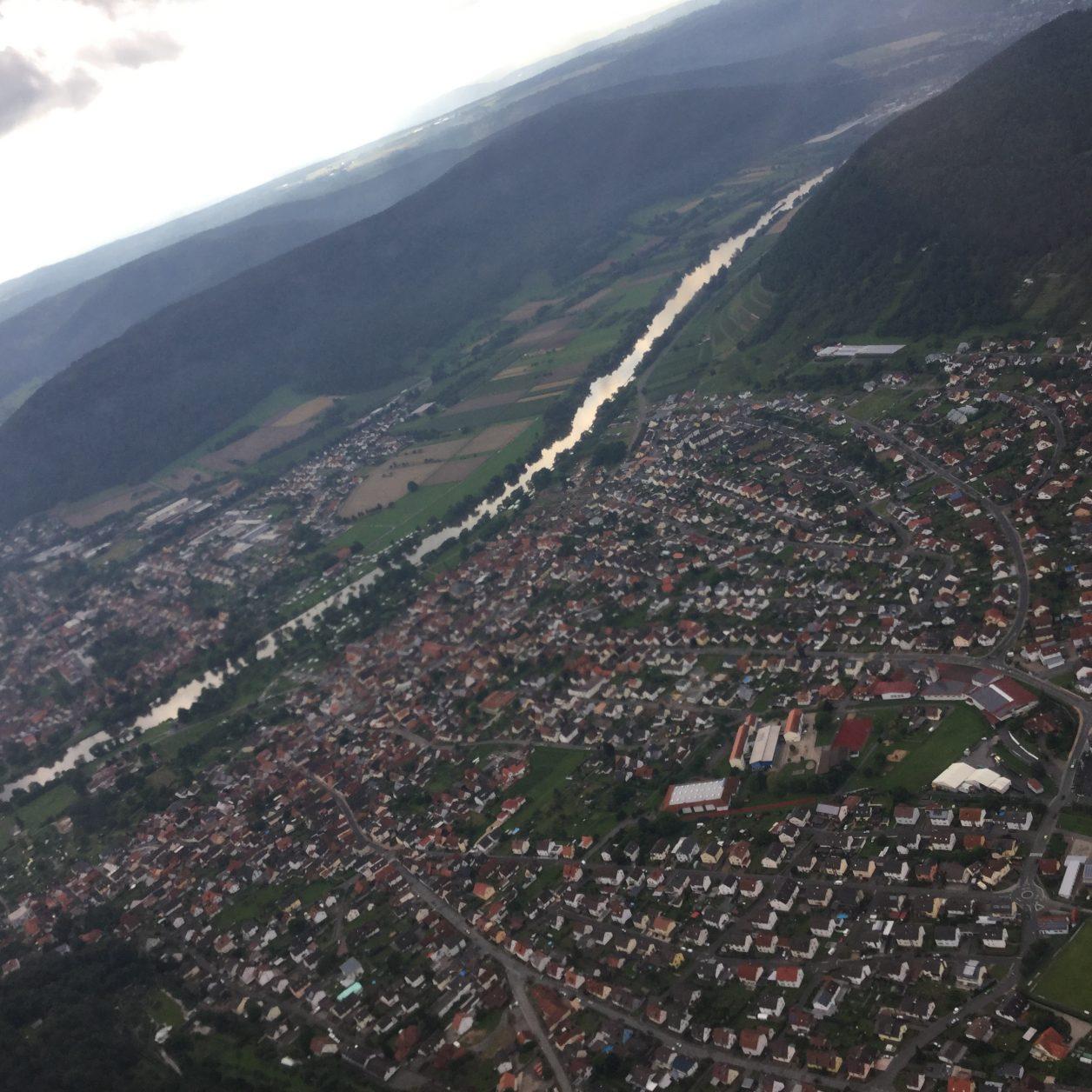 Churfranken aus der Luft, Foto: D.Weirauch