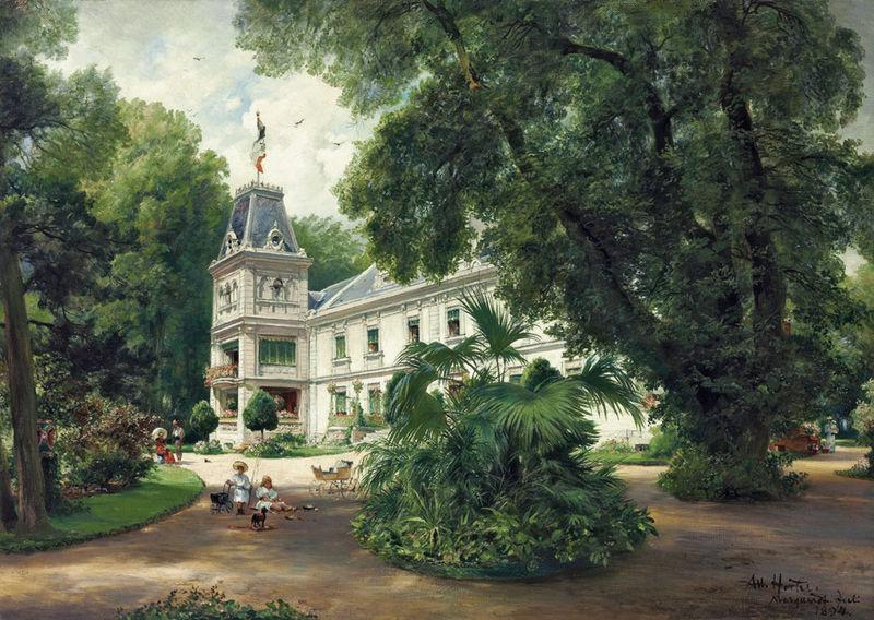 Albert Hertel: Schloss Marquardt