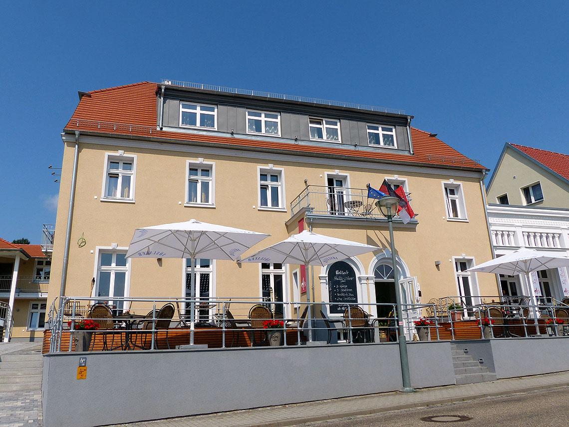 das Klosterhotel Neuzelle bietet für Radler perfekte Unterkunft